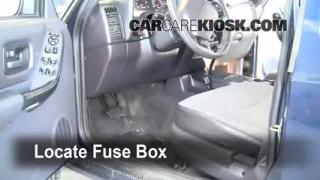 1997-2001 Jeep Cherokee Interior Fuse Check