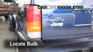 Tail Light Change 1997-2001 Jeep Cherokee