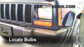 Front Turn Signal Change Jeep Cherokee (1997-2001)