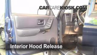 Open Hood How To 1997-2001 Jeep Cherokee