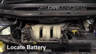 How to Clean Battery Corrosion: 2001-2004 Dodge Grand Caravan