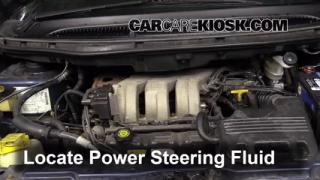 Follow These Steps to Add Power Steering Fluid to a Dodge Grand Caravan (2001-2004)