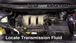 Transmission Fluid Level Check Dodge Grand Caravan (1996-2000)