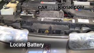Battery Replacement: 1991-2002 Saturn SL