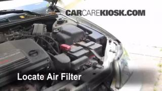 2000-2004 Toyota Avalon Engine Air Filter Check