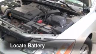 Battery Replacement: 2000-2004 Toyota Avalon