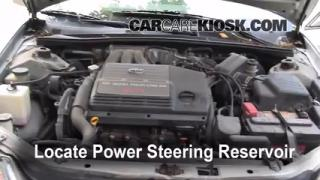 Follow These Steps to Add Power Steering Fluid to a Toyota Avalon (2000-2004)