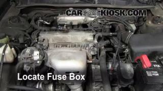 Blown Fuse Check 1997-2001 Toyota Camry