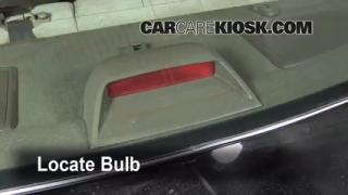 Third Brake Light Bulb Change Toyota Camry (1997-2001)
