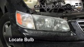 how to change front indicator bulb on 2001 toyota camry