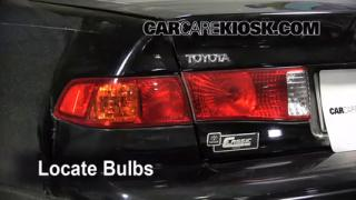 Tail Light Change 1997-2001 Toyota Camry