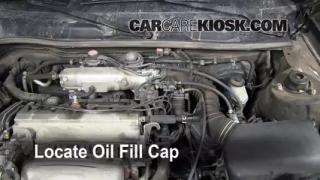 How to Add Oil Toyota Solara (1999-2003)