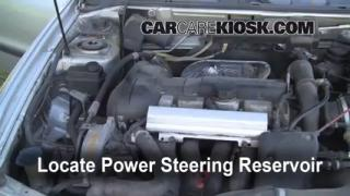 Follow These Steps to Add Power Steering Fluid to a Volvo V40 (2000-2004)