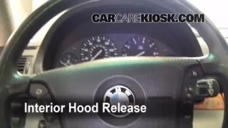 Open Hood How To 2000-2006 BMW X5