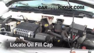 How to Add Oil Chevrolet Astro (1990-2005)