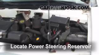 Follow These Steps to Add Power Steering Fluid to a Chevrolet Astro (1990-2005)