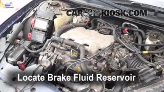 2000-2005 Chevrolet Impala Brake Fluid Level Check