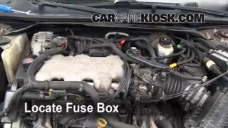 Blown Fuse Check 2000-2005 Chevrolet Impala
