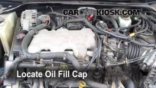 How to Add Oil Chevrolet Impala (2000-2005)