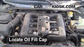How to Add Oil Chrysler LHS (1999-2001)