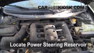 Follow These Steps to Add Power Steering Fluid to a Chrysler LHS (1999-2001)