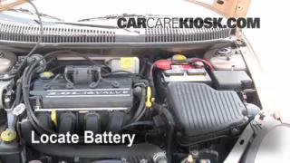 Battery Replacement: 2000-2005 Dodge Neon