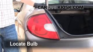 Tail Light Change 2000-2005 Dodge Neon