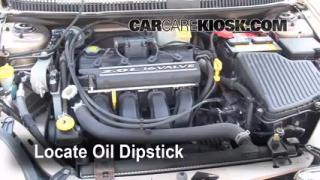Check Oil Level 2000-2005 Dodge Neon