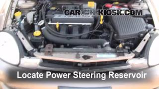 Follow These Steps to Add Power Steering Fluid to a Dodge Neon (2000-2005)