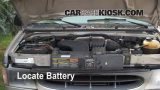 How to Clean Battery Corrosion: 1990-2007 Ford E-350 Club Wagon
