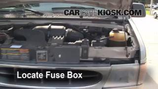 Replace a Fuse: 1990-2007 Ford E-350 Club Wagon