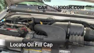 How to Add Oil Ford E-350 Club Wagon (1990-2007)