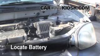 Battery Replacement: 2001-2006 Hyundai Santa Fe