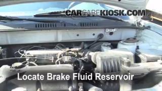 Add Brake Fluid: 2001-2006 Hyundai Santa Fe