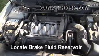 1993-2006 Lincoln LS Brake Fluid Level Check