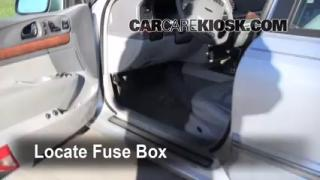 1995-2002 Lincoln Continental Interior Fuse Check
