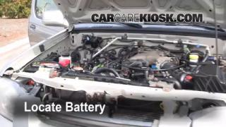 Battery Replacement: 1998-2004 Nissan Frontier