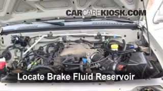 Add Brake Fluid: 1998-2004 Nissan Frontier