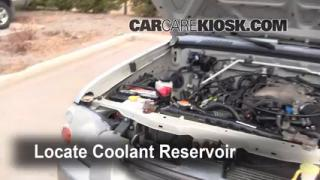 Coolant Level Check: 1998-2004 Frontier