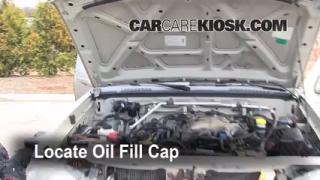 How to Add Oil Nissan Frontier (1998-2004)