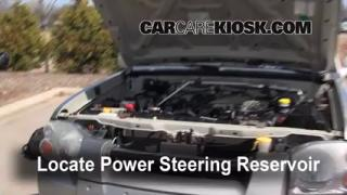 Follow These Steps to Add Power Steering Fluid to a Nissan Frontier (1998-2004)