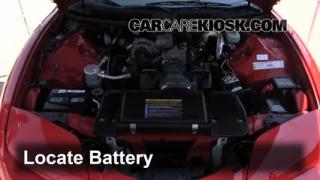 How to Clean Battery Corrosion: 1993-2002 Pontiac Firebird