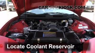 How to Add Coolant: Pontiac Firebird (1993-2002)