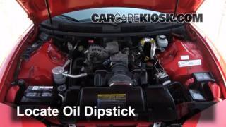 Check Oil Level 1993-2002 Pontiac Firebird