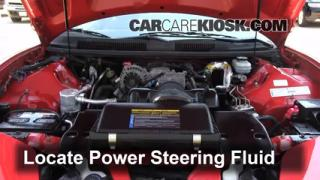 Follow These Steps to Add Power Steering Fluid to a Pontiac Firebird (1993-2002)