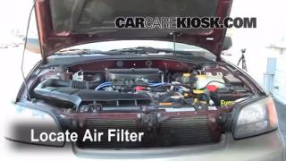 2000-2004 Subaru Legacy Engine Air Filter Check