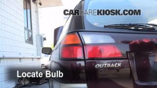 Reverse Light Replacement 2000-2004 Subaru Outback