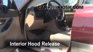 Open Hood How To 2000-2004 Subaru Outback
