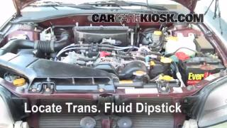 Fix Transmission Fluid Leaks Subaru Legacy (2000-2004)