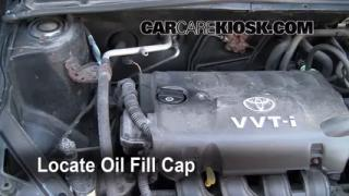 How to Add Oil Toyota Echo (2000-2005)